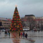 Новый год в Вильнюсе.Литва.