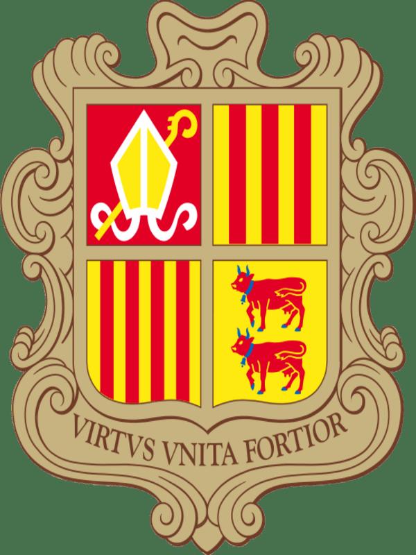 герб андорры