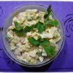Салат из сельдерея с сыром. Простой рецепт.