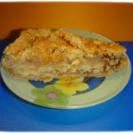 Насыпной пирог с яблоками в духовке.
