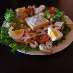 Как приготовить салат с креветками. Легкий салат с креветками