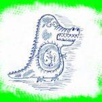 А в животе у крокодила