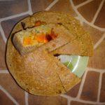 Кукурузный пирог со свеклой и тыквой