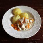 Куриное фрикасе с картошкой
