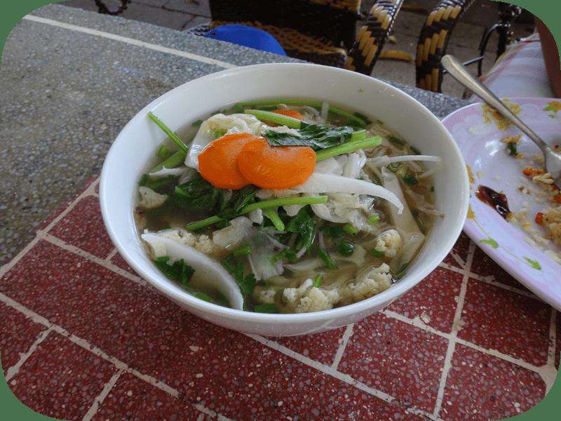 вьетнамская кухня фо с кальмарами