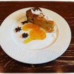 Пирог с тыквой и апельсиновым джемом