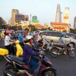 Хошимин, Вьетнам. Ад на улицах