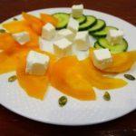 Салат из хурмы и феты