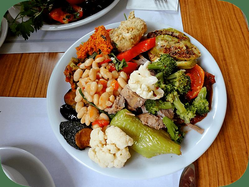 еда в 5 * отелях Мармариса чем кормят