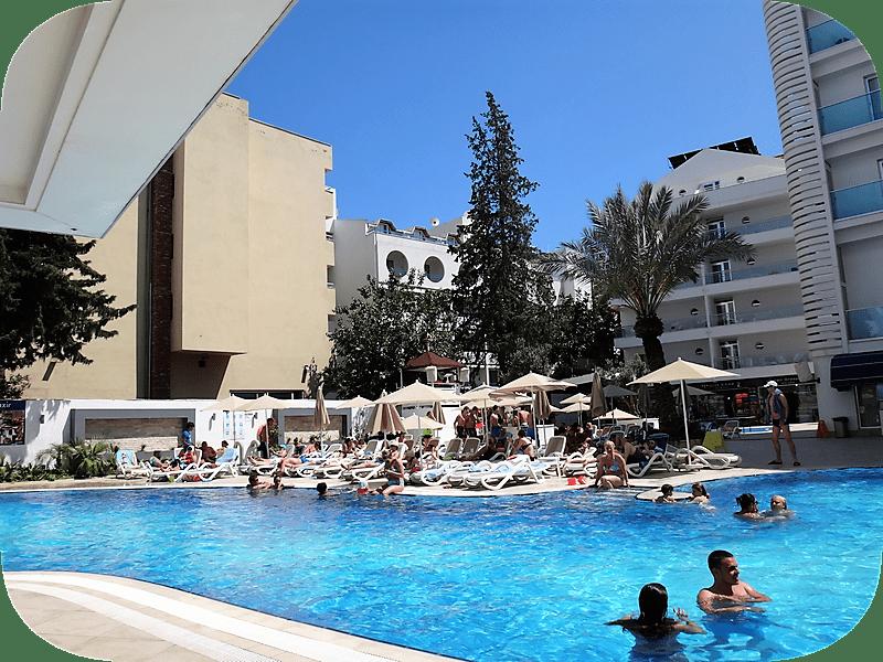 интерьеры отеля Blue Bay Platinum 5* турецкий отель