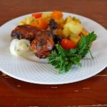 Куриные голени с ароматными овощами