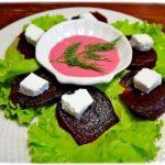 Свекольный салат с фетой