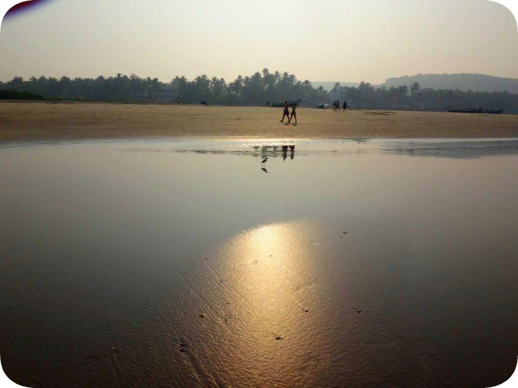 Мандрем и Ашвем. Прогулка по пляжу