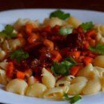 Как приготовить макароны с тушенкой.Тушенка с помидорами