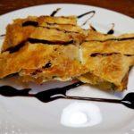 Слоеный пирог из кабачков с сыром