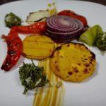 Салат из овощей гриль. Простой рецепт