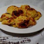 Картофельное печенье с креветками