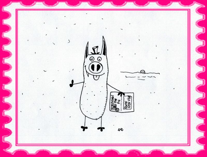 Свинни оформляет Свингенскую визу