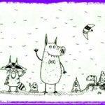 Свинни и его друзья поздравляют вас с Новым годом!