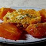 Салат из сырой тыквы с сыром и крабовыми палочками