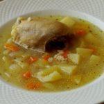 Простой куриный суп