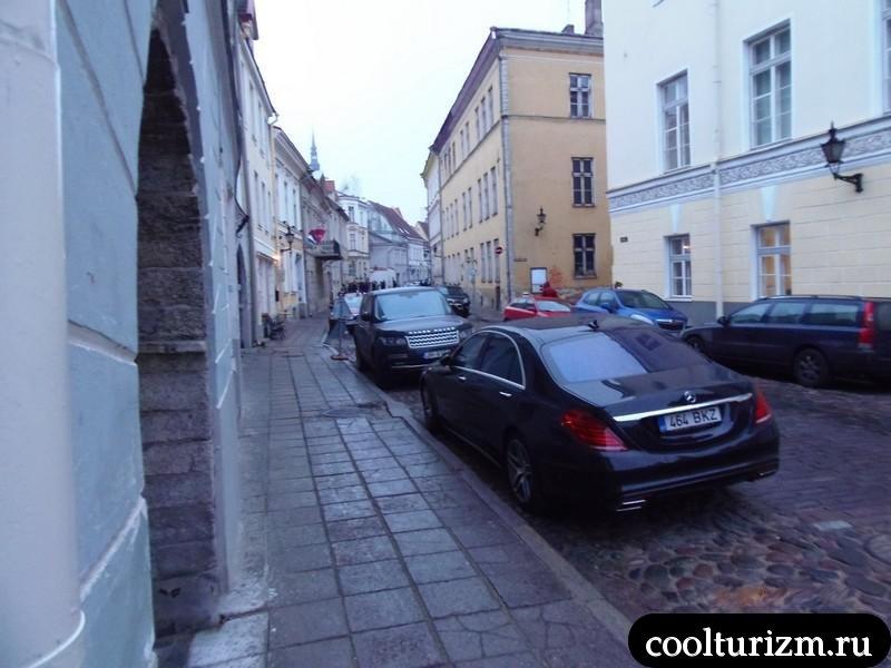 узкие улочки Таллинна