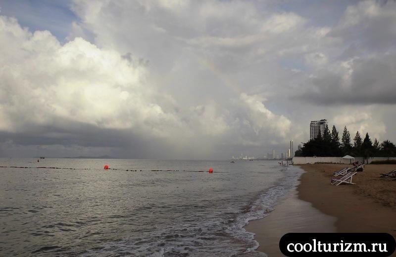 пляж Амбассадор.Тайланд