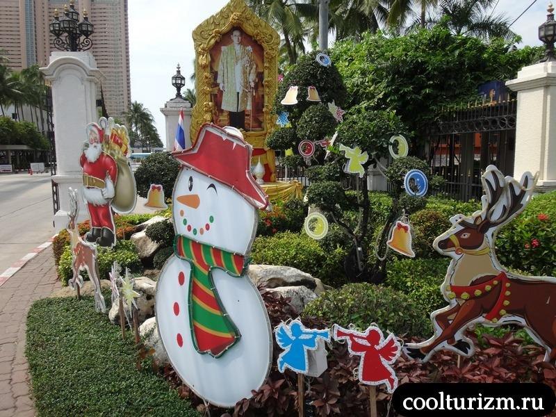 Новый год в Амбассадоре.Тайланд