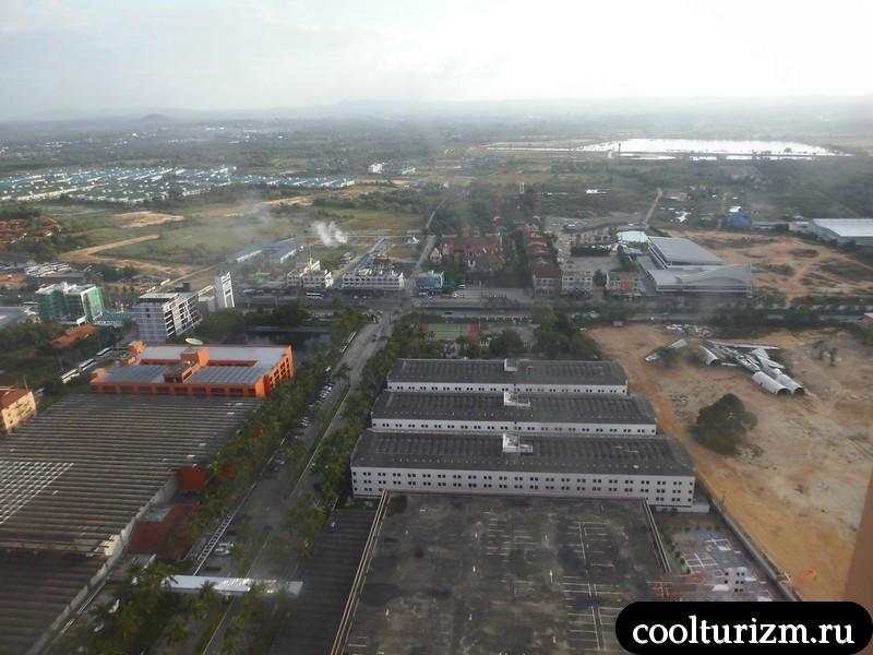 Вид с обзорной площадки Амбассадора.Тайланд