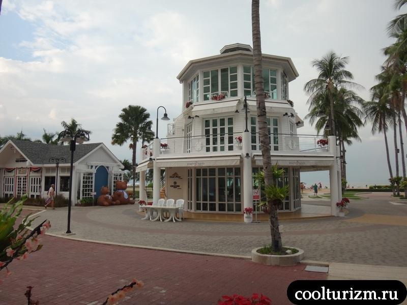 бар в амбассадоре на пляже