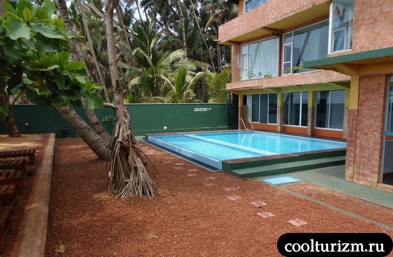 Шри Ланка.рой вилла.бассейн