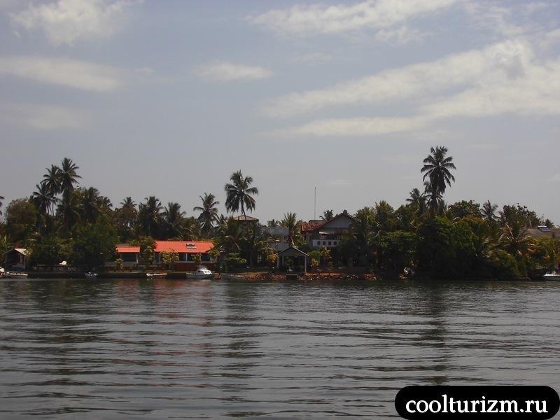 Бентота.залив.виллы.Шри Ланка