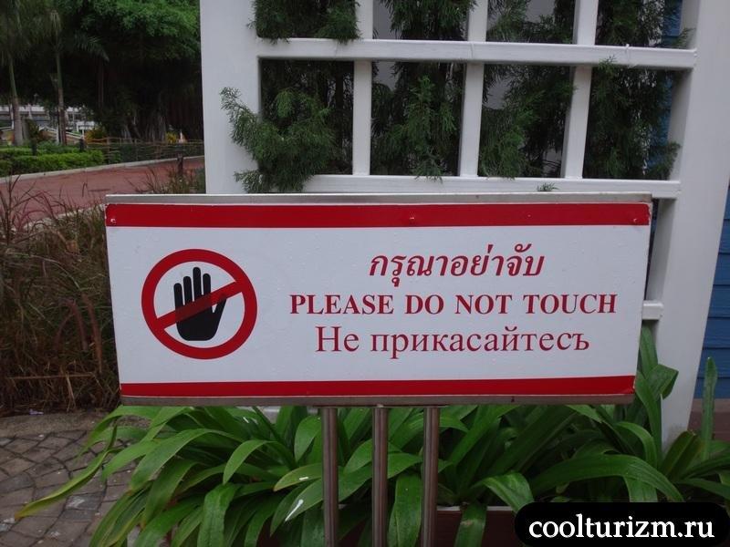 сплошные запреты в Амбассадоре