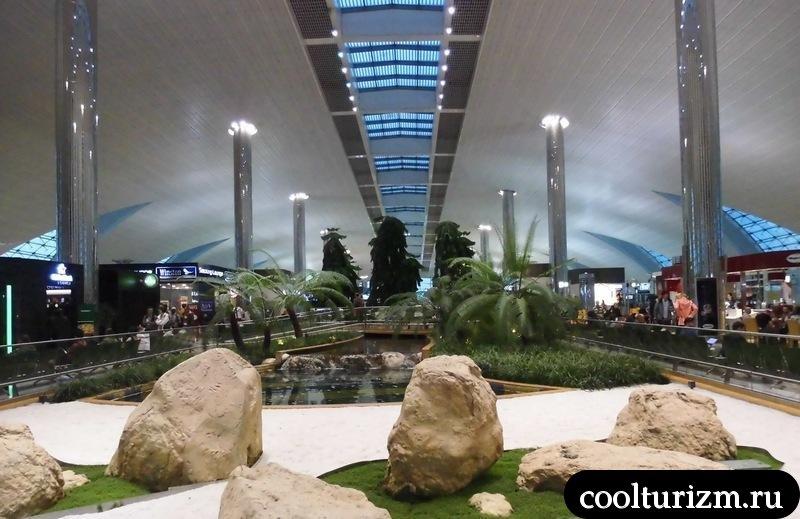 Дубай.аэропорт.зал ожидания