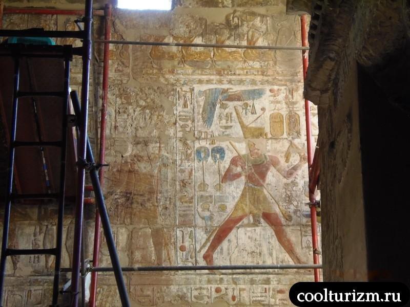 фрески храма Амон Ра