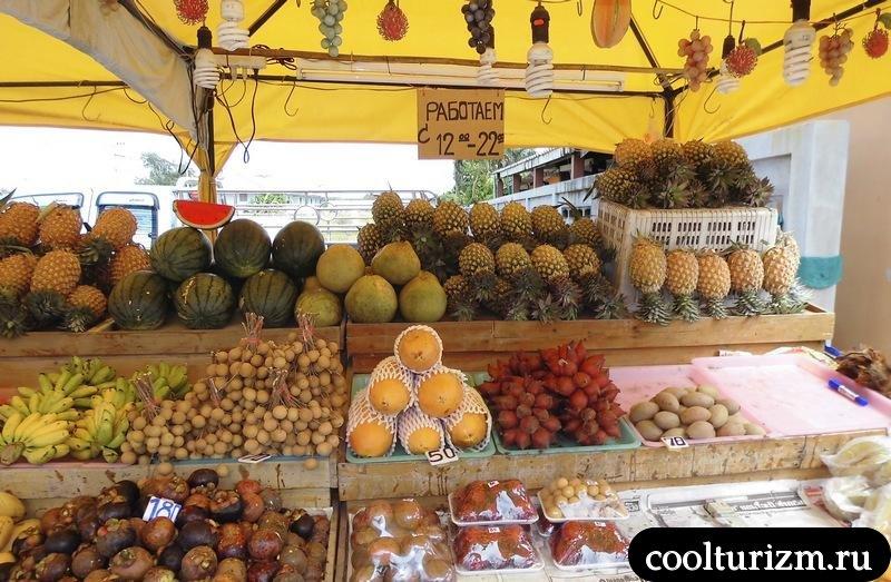 фруктовая лавка.Тайланд