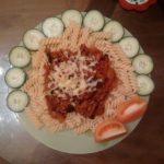 Фузилли с мясным соусом «Почти Болоньезе»