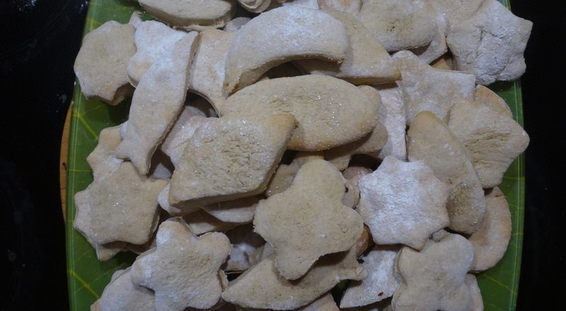 печенье с масалой и корицей