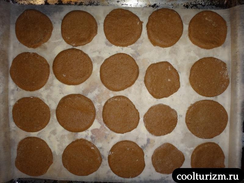 пергамент для выпечки печенья