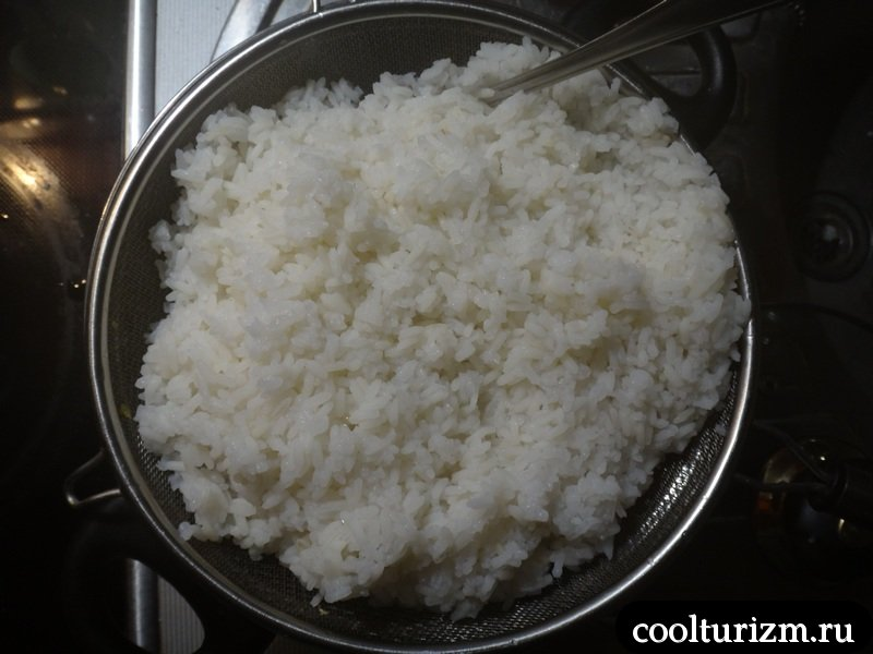 сварить рассыпчатый рис легко и просто