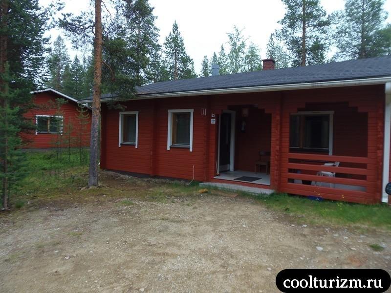 Мой любимый отель в районе Ивало-Инари.Финляндия.Ukonjärven Holiday Village