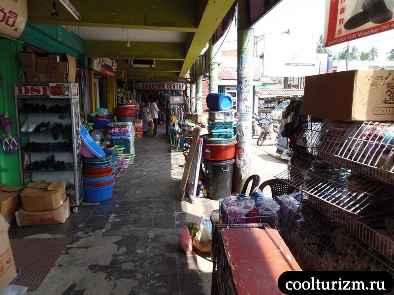 магазинчики и рынки Шри Ланки