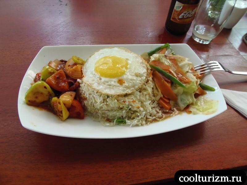 еда на Шри Ланке.рис