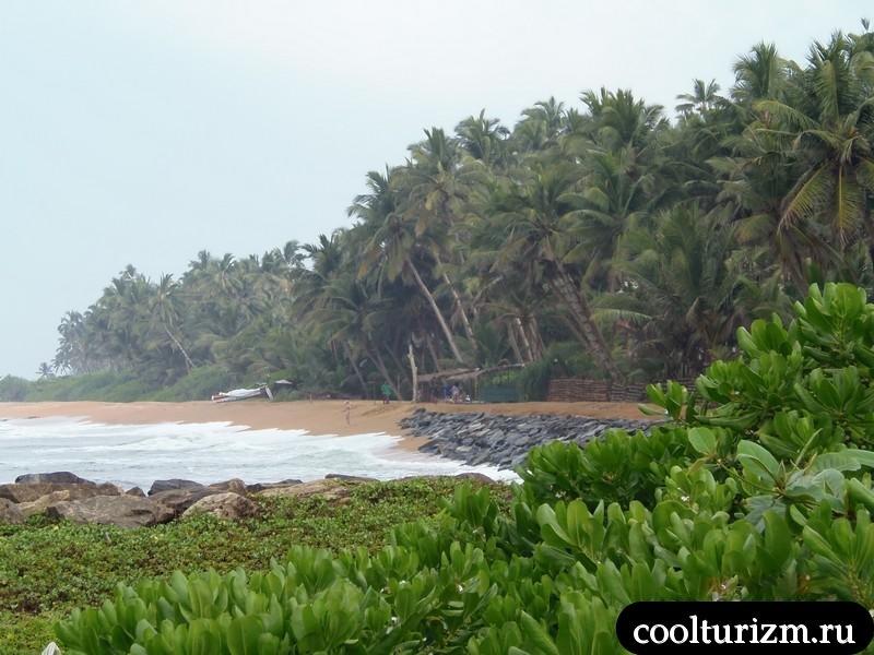 вид на пляж Рой виллы
