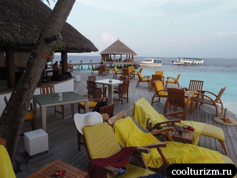 лежаки.Мальдивы