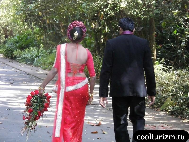 свадьба.Шри Ланка.красочно