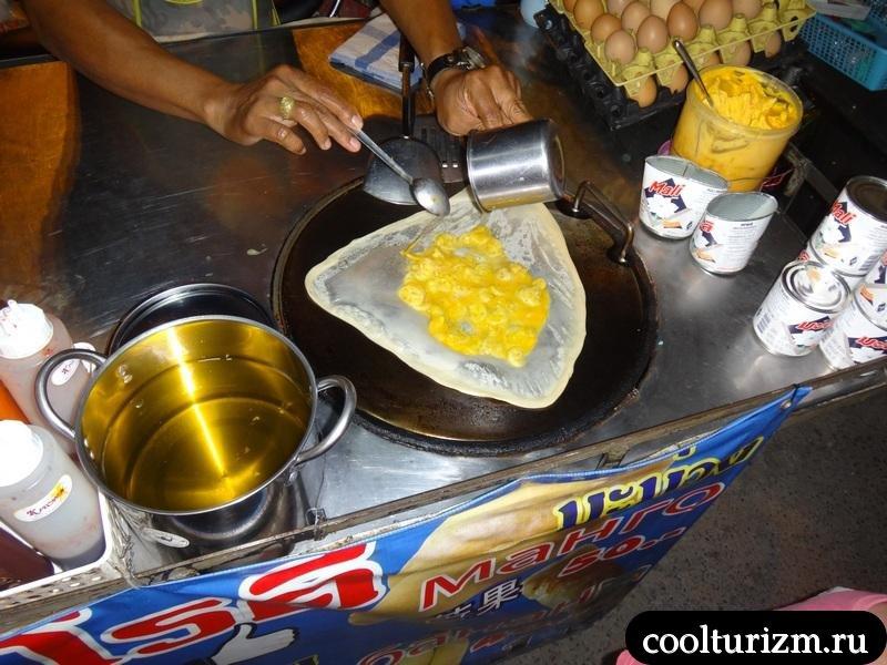 блинчики в тайланде