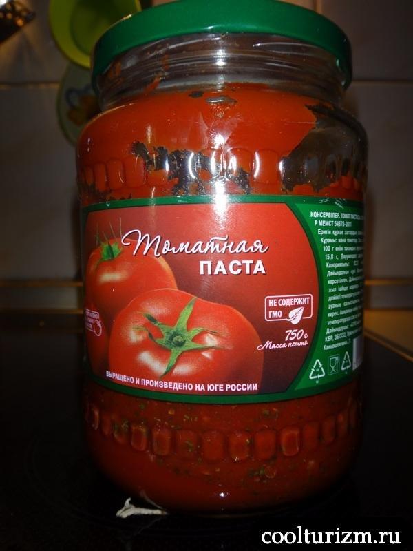 домашний ароматный томатный соус