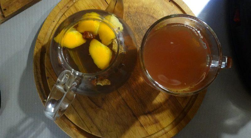 ароматный зимний чай готов
