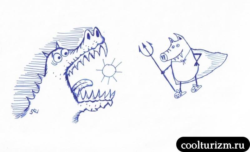 крокодил наше солнце отглотил